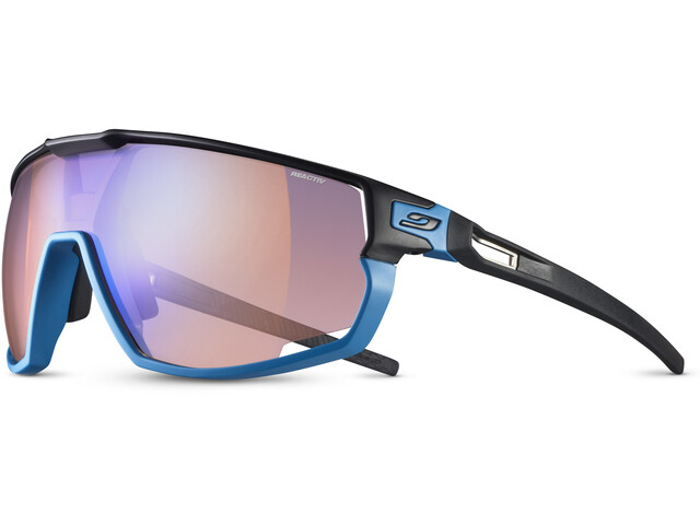 Julbo Rush Reactiv Performance 1-3 HC Sunglasses, black/blue